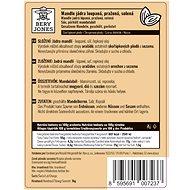 Bery Jones Mandle loupané, pražené solené 1kg - Ořechy