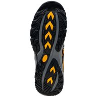 Elbrus Gerdis Black/Dark grey/ Radiant yellow EU 43 / 287 mm - Trekové boty