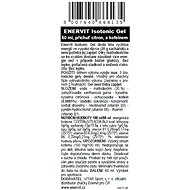 ENERVIT Isotonic Gel s kofeinem 60 ml citron - Energetický gel