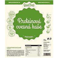 GreenFood Nutrition Proteinová ovesná kaše bezlepková, natural, 500g - Bezlepková kaše
