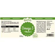 GreenFood Nutrition Omega 3 120 kapslí - Omega 3