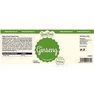 GreenFood Nutrition Ženšen 60 kapslí - Superfood