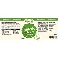 GreenFood Nutrition Aquamine + Vitamin D3 60 kapslí - Vitamín