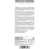 GymBeam Proteinový puding 500 g, double chocolate chunk - Puding