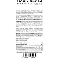 GymBeam Proteinový puding 500 g, vanilla blueberries - Puding