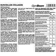 GymBeam RunCollg Hydrolyzovaný kolagen 500g, bez příchuti - Kloubní výživa