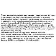 HealthyCo Proteinella slaný karamel 400g - Máslo