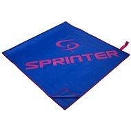 SPRINTER ručník z mikrovlákna 70x140 cm, modro-růžový - Ručník