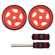Sharp Shape AB Wheel red - Posilovací kolečko