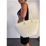 Curver Knit taška Emily krémová - Nákupní taška