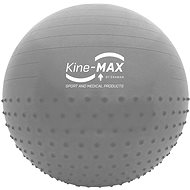 Kine-MAX Professional GYM Ball  - stříbrný - Gymnastický míč