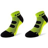 Lenz Compression 5.0 short neon yellow/black 50 vel. 42-44 - Kompresní ponožky