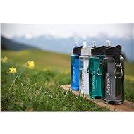LifeStraw GO2 Stage 0,65l clear - Filtrační láhev
