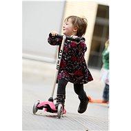 Micro Mini růžová - Dětská koloběžka