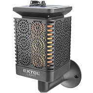 EXTOL LIGHT pochodeň LED s plamenem, solární nabíjení, 12x LED - Svítilna