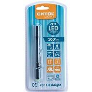 EXTOL LIGHT svítilna 100lm, zoom, celokovová, 100lm, CREE XPG - Baterka