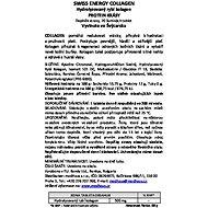 Swiss Energy Collagen, eff. tbl. 20 - Kloubní výživa