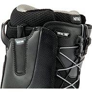 Nitro Venture TLS Black - Gum vel. 44 EU/ 290 mm - Boty na snowboard