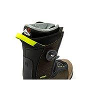 Nitro Club BOA Dual Olive-Black vel. 46 EU / 305 mm - Boty na snowboard