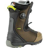Nitro Club BOA Dual Olive-Black vel. 46 2/3 EU / 310 mm - Boty na snowboard