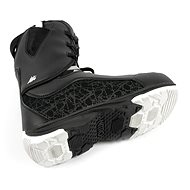 Nitro Futura TLS Black-White vel. 37 1/3 EU / 240 mm - Boty na snowboard