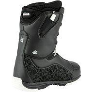 Nitro Futura TLS Black-White vel. 38 EU / 245 mm - Boty na snowboard