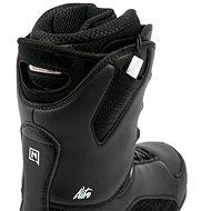 Nitro Futura TLS Black-White vel. 40 EU / 260 mm - Boty na snowboard