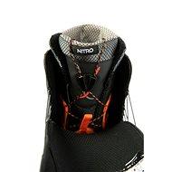 Nitro Team TLS Black vel. 46 2/3 EU / 310 mm - Boty na snowboard