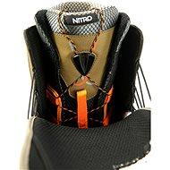 Nitro Team TLS Olive-Black vel. 48 EU / 320 mm - Boty na snowboard