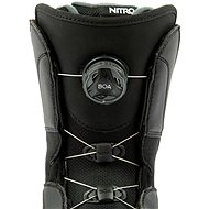 Nitro Vagabond BOA Black vel. 41 1/3 EU / 270 mm - Boty na snowboard