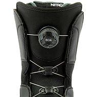 Nitro Vagabond BOA Black vel. 44 EU / 290 mm - Boty na snowboard