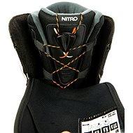 Nitro Vagabond BOA Black vel. 45 1/3 EU / 300 mm - Boty na snowboard
