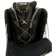 Nitro Vagabond TLS Black vel. 44 2/3 EU / 295 mm - Boty na snowboard