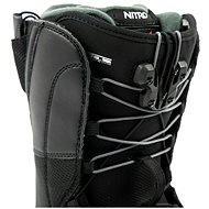 Nitro Vagabond TLS Black vel. 45 1/3 EU / 300 mm - Boty na snowboard