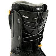 Nitro Venture Pro TLS Black-White-Gold vel. 43 1/3 EU / 285 mm - Boty na snowboard