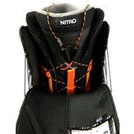 Nitro Venture Pro TLS Black-White-Gold vel. 45 1/3 EU / 300 mm - Boty na snowboard