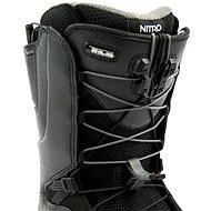 Nitro Venture TLS Black vel. 44 EU / 290 mm - Boty na snowboard