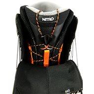 Nitro Venture TLS Black vel. 46 2/3 EU / 310 mm - Boty na snowboard