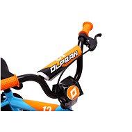 """OLPRAN Matty 12"""", modrá/oranžová - Dětské kolo"""