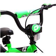 """OLPRAN Matty 12"""", zelená/černá - Dětské kolo"""