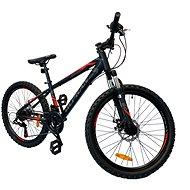 """OLPRAN XC 24"""" černá/červená - Dětské kolo"""