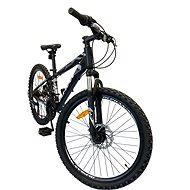 """OLPRAN XC 24"""" černá/bílá - Dětské kolo"""