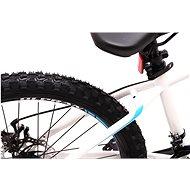 """OLPRAN XC 24"""" bílá/modrá - Dětské kolo"""