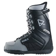 Robla Smooth Black/Grey vel. 47 EU/ 310 mm - Boty na snowboard