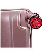 Roncato STELLAR, 55 cm, 4 kolečka, EXP, růžová - Cestovní kufr s TSA zámkem