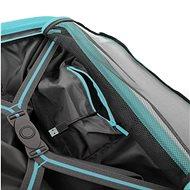 Roncato SKYLINE 55 cm, 4 kolečka, USB, EXP,  modrá - Cestovní kufr s TSA zámkem