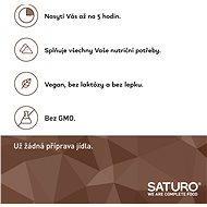 Saturo 500ml, čokoláda (6ks) - Trvanlivé jídlo