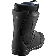 Salomon Titan Black/Black/GREEN Gables vel. 46 EU / 305 mm - Boty na snowboard