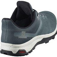 Salomon OUTline Prism GTX tyrkysová/šedá - Trekové boty