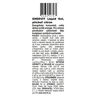 Enervit Liquid Gel (60 ml) citron - Energetický gel